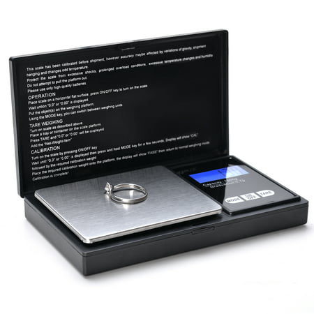 500g x 0.1 Gram Digital Portable Pocket Scale Jewelry / Cooking