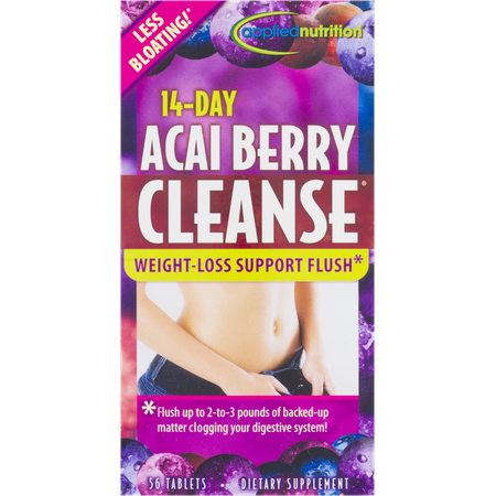 Applied Nutrition 14 Day Acai Berry Cleanse Tablets, 56