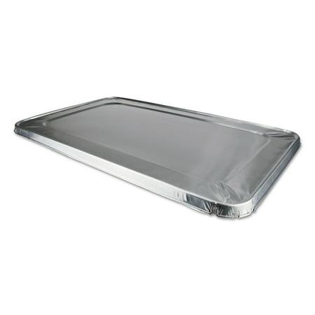 Edge Foil (Durable Packaging Foil Lids, 12 7/8w x 5/8d, Safety Edge, Silver, 50/Carton 8900CRL)