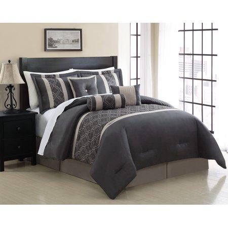 Chic Home Renee 7 Piece Comforter Set Walmart Com