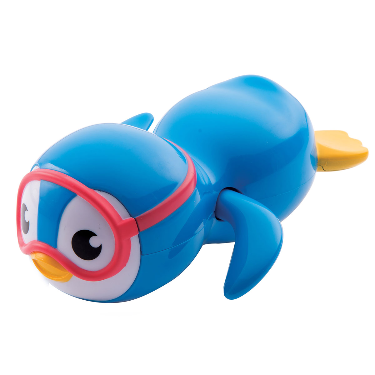 Munchkin Swimming Penguin Wind-Up Bath Toy - Blue