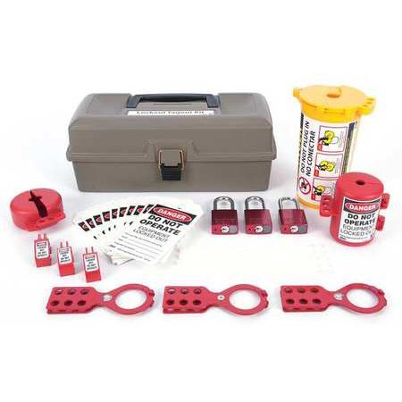 ZING 2734 Lockout Kit,Filled,Electrical (Electrical Locknut)
