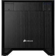 """Corsair Obsidian Series 250D Mini ITX PC Case - Small - Black - Aluminum, Steel - 5 x Bay - 2 x 4.72"""", 5.51"""" x Fan(s) Installed - 0 - Mini ITX Motherboard Supported - 9.74 lb - 5 x Fan(s)"""