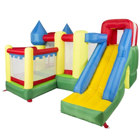 bcp large inflatable bouncer house castle kids bounce jumper w out
