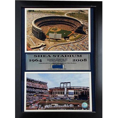 MLB New York Mets Game Used Frame, 12x18