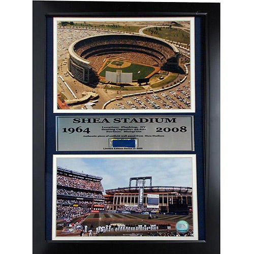 MLB New York Mets Game Used Frame, 12x18
