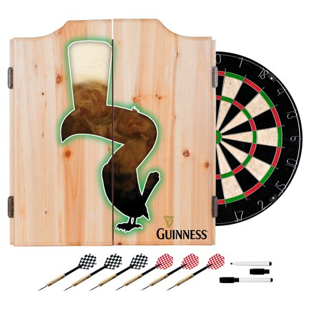 Off Dart - Guinness Dart Cabinet Set with Darts and Board