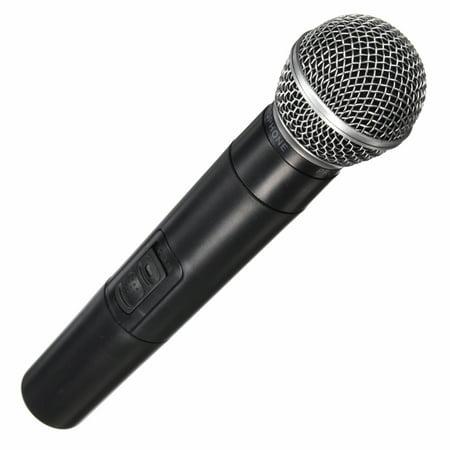 Dual Professional Wireless Microphone Cordless Handheld Mic Kareoke KTV Party DJ Equipment - image 9 of 13