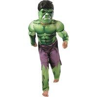 Boy's Deluxe Muscle Hulk Halloween Costume