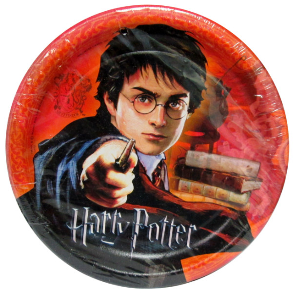 Harry Potter 'Goblet of Fire' Small Paper Plates (8ct)