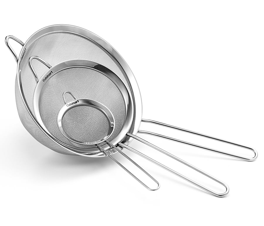 Cuisinart Non-Handled Mesh Strainers (Set of 3) by Conair