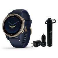 Garmin Legacy Hero Series Special Edition Smartwatch with Included Wearable4U Power Pack Bundle (Captain Marvel 40mm)
