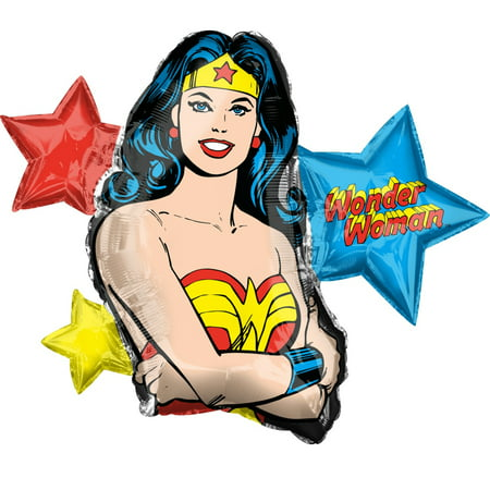 Wonder Woman Foil Balloon 33