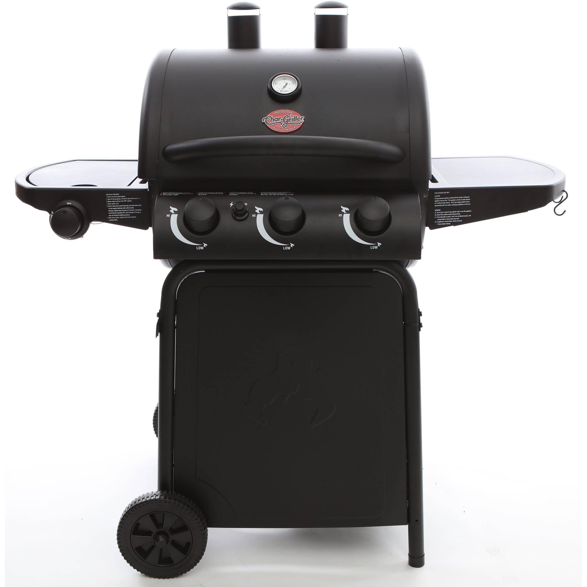 Char-Griller 3 Burner Gas Grill