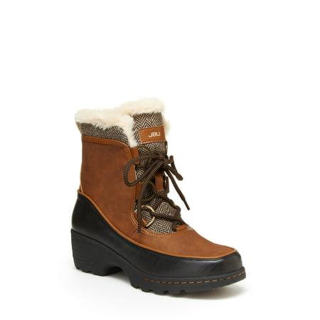 JBU by Jambu Women's Marco Weather Ready Faux Fur Boots