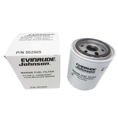 Johnson/Evinrude/OMC OEM Water Separating Fuel Filter Cannister 502905; 0502905