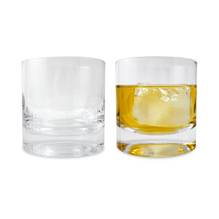 Large Double Old Fashioned Glasses - Scotch Whiskey Glass, 14 oz - Ambrosia Collection