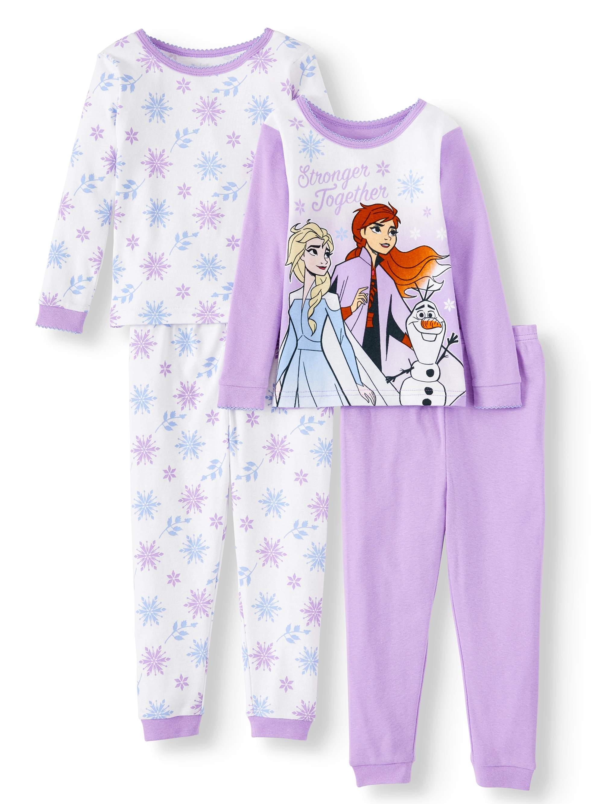 Disney Store Star Wars Boy Long Sleeve Cotton Tight Fit Pajama Set Size 7