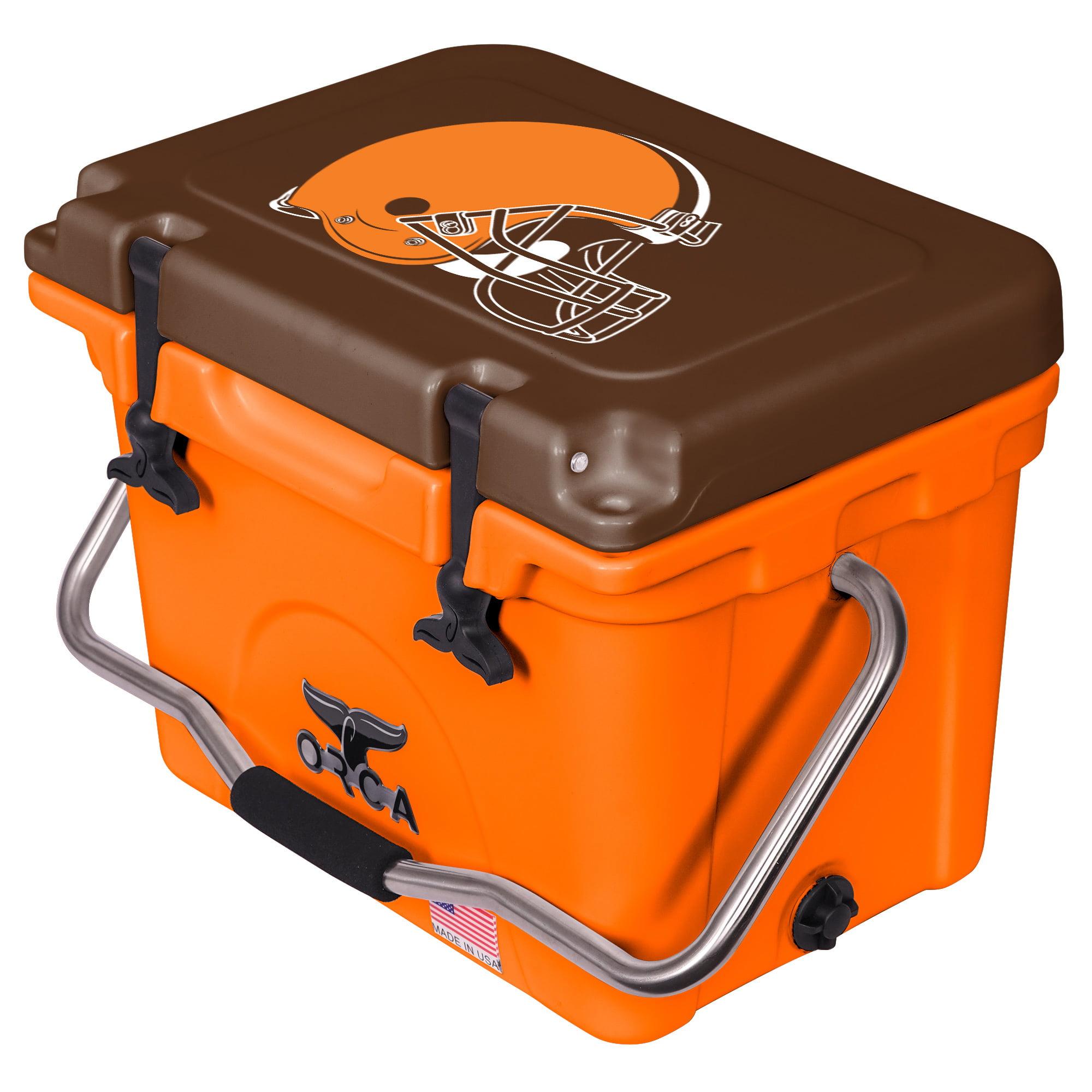 Cleveland Browns ORCA 20-Quart Hard-Sided Cooler - Brown/Orange - No Size