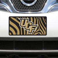 UCF Knights Zebra Acrylic Laser-Cut License Plate - No Size