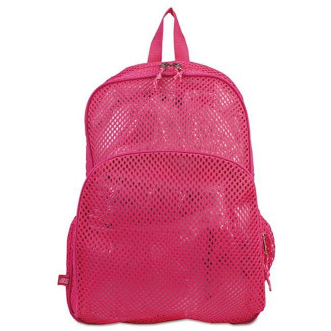 Eastsport 113960BJENR Mesh Backpack, 12 x 5 x 18, Pink