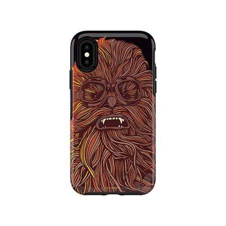 finest selection 8f85a cddb9 Otterbox Symmetry Series Solo: A Star Wars Story Case for iPhone X,  Chewbacca