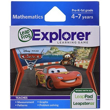 LeapFrog Learning Game Disney-Pixar Cars 2 (works with LeapPad Tilets, Leapster GS and Leapster Explorer)