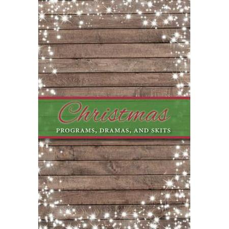 Christmas Programs, Dramas and Skits ()