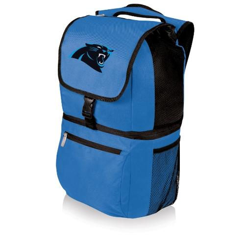 NFL Backpack Cooler by Picnic Time - Zuma, Carolina Panthers - Blue