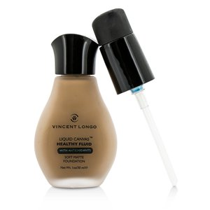 Vincent Longo - Liquid Canvas Healthy Fluid Foundation #7 Golden Tan - 30ml|1oz