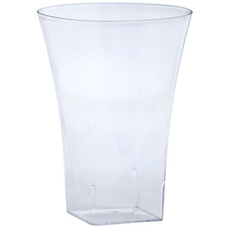 Lillian Dinnerware Flared Cups, 14 Oz, Clear, 10 -