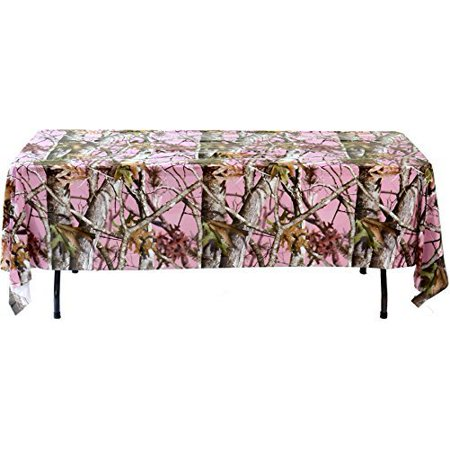 Next Camo Pink Table Cover (54