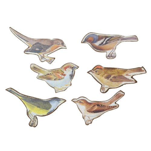 Wilco Home Magnet Bird (Set of 6)