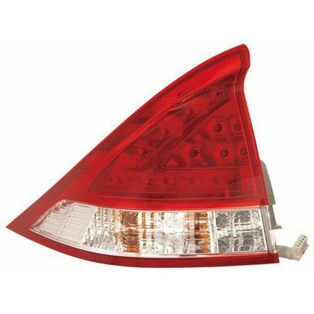 Go-Parts » 2010 - 2011 Honda Insight Rear Tail Light Lamp Assembly / Lens / Cover - Left (Driver) Side 33551-TM8-A02 HO2800177 Replacement For Honda (Tail Lamp Assembly Left Driver)