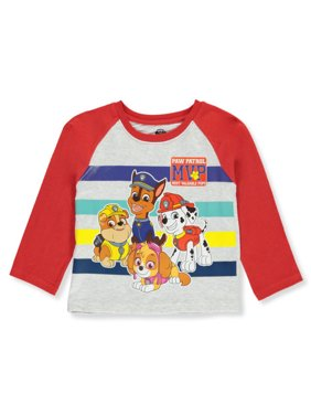 Paw Patrol Boys' Most Valuable Pups L/S T-Shirt
