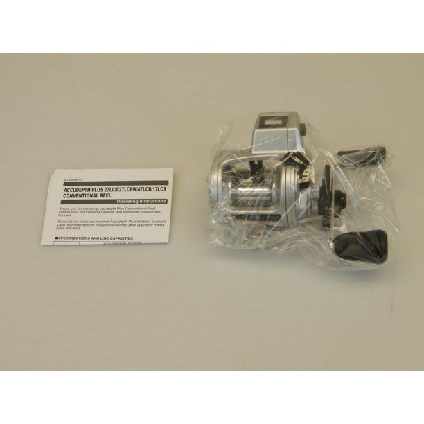Daiwa AccuDepth Plus-B 5.1:1 Line Counter Casting Reel, Right Hand Dual Paddle Handle - ADP17LCB