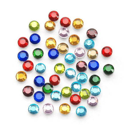 Value Pack Hot Fix Glass Stones - Assorted - 4mm - 750 pcs