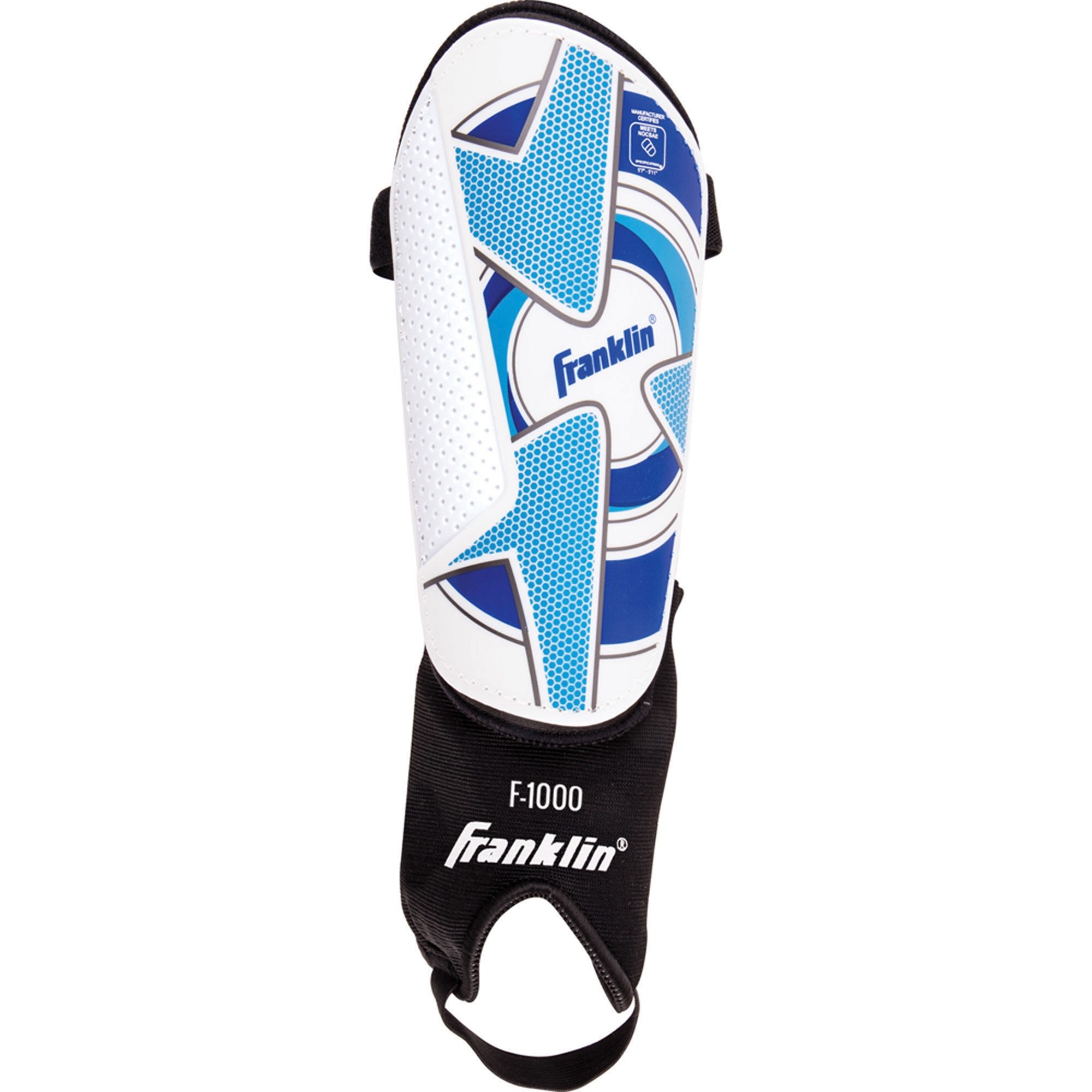 Franklin Sports Comp F-1000 Shin Guards