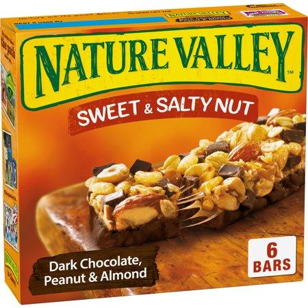 Nature Valley Granola Bars Sweet & Salty Nut Dark Choc Peanut &