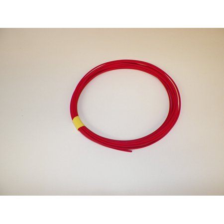 General Purpose Motorcycle - 22 Ga. RED Abrasion-Resistant General Purpose Wire (TXL) - (25 feet coil)