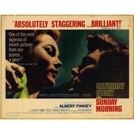 Saturday Night And Sunday Morning  1961  22X28 Movie Poster
