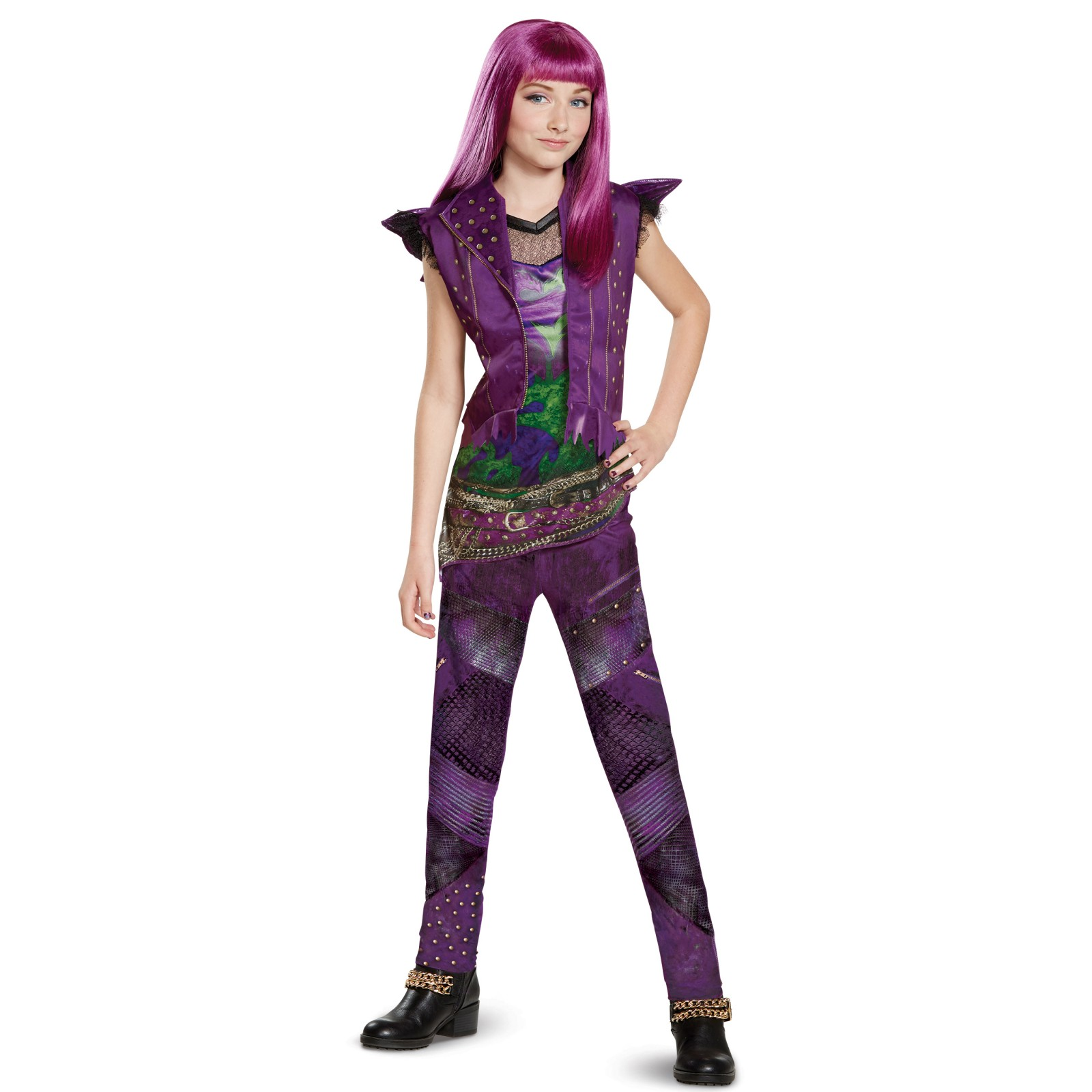 Disney Descendants 2: Mal Classic Isle Look Child Costume