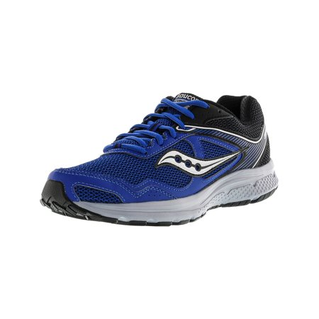 b4efe2839581 Saucony - Saucony Men s Grid Cohesion 10 Royal   Black Ankle-High Running  Shoe - 9.5W - Walmart.com