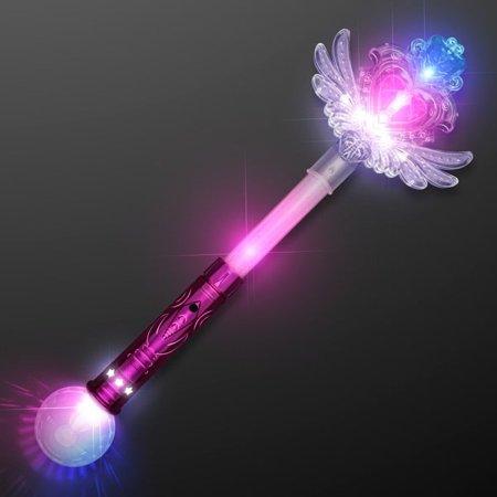 Magical Fairy Princess Winged Heart Wand by Blinkee](Wands And Wings)