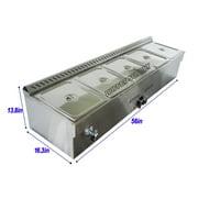 5-Pan LP Gas Steam Table Food Warmer� by Food Warmers
