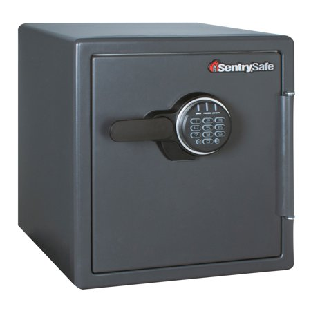 SentrySafe 1.23 Cu. Ft. Large Digital Combination Lock Fireproof Security Safe ()