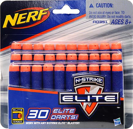 Nerf N-Strike Elite Dart Refill (30 pack) by Hasbro