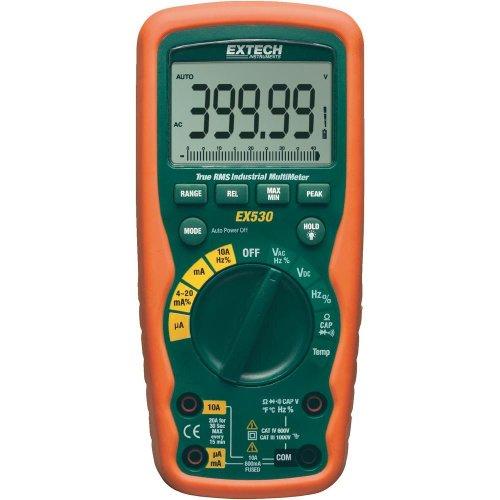 Extech EX530 True RMS Heavy Duty Industrial MultiMeter