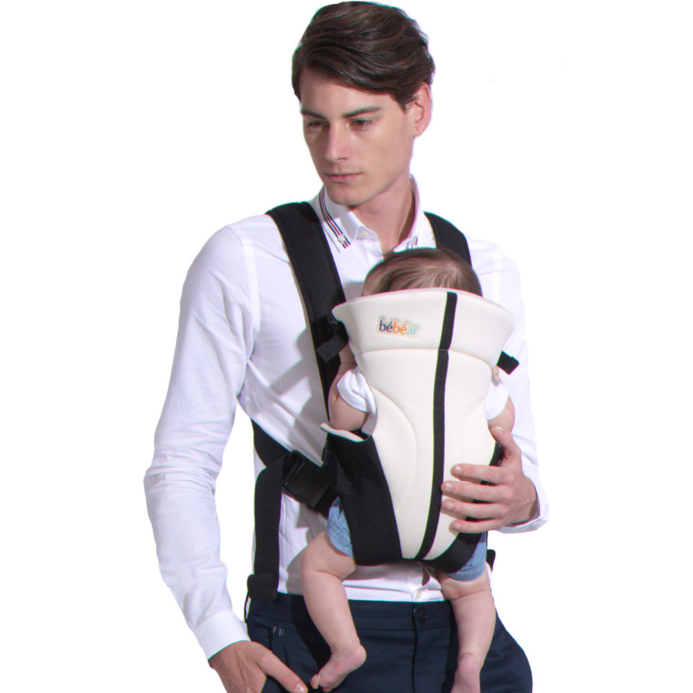 Baby Carrier Three Postures Babies Manduca Ergonomic Infant Wrap Comfortable Toddler Sling Backpack for Kids by VirtualStoreUSA.com