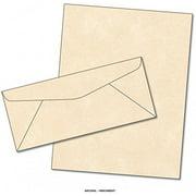 Parchment Matching Paper & Envelopes - Color: Natural - 50 Sets